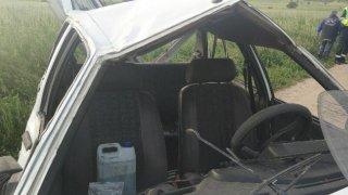 Así quedó el vehículo tras el accidente mortal / HOY