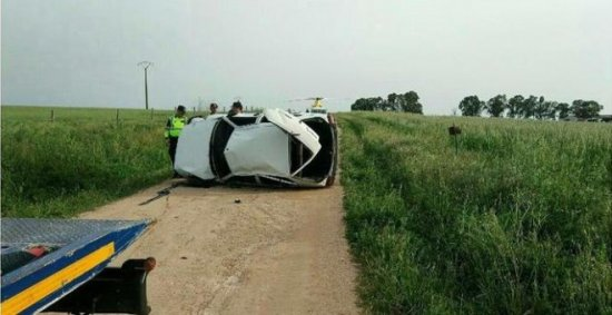 Fallece un menor al volcar un coche conducido por otro joven de 15 años en Badajoz