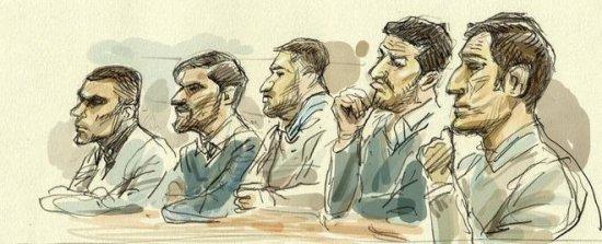 Así son los cinco miembros de La Manada acusados de la violación en San Fermín
