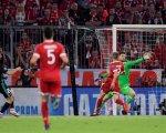 Asensio marca el gol dela victoria del Real Madrid en Múnich.