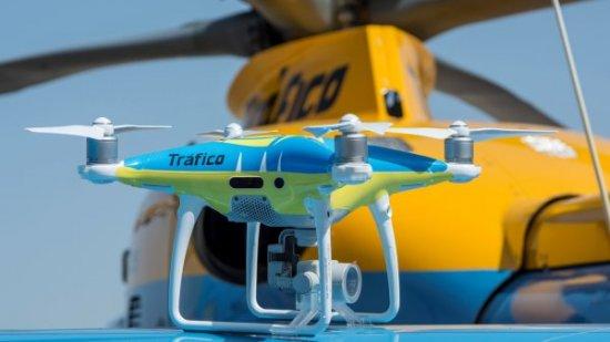 Los drones que Tráfico pondrá en prueba para regular los desplazamientos por carretera