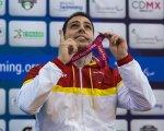 Toni Ponce, Campeón del Mundo. CEDIDA por Toni