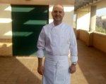 El chef Iñaki Ganuza. Iñaki Ganuza junior