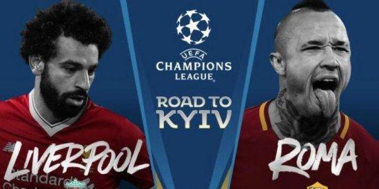 Gran robo en la semifinal de Roma - Liverpool.
