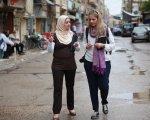 Raquel Martí en Siria en 2015. CEDIDA