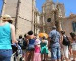 Turistas en Extremadura. Fernando Mena