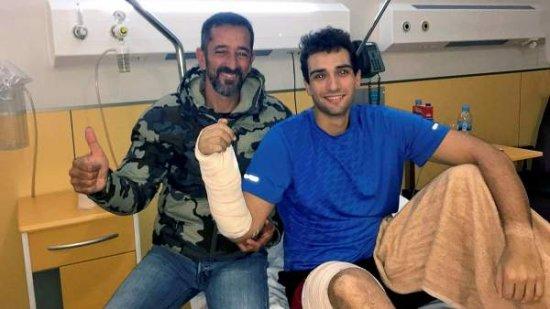 Un marine de EEUU recupera la mano amputada  gracias al doctor Cavadas