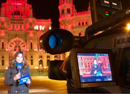 'El periodista debe contar con honestidad lo que ocurre a su alrededor'