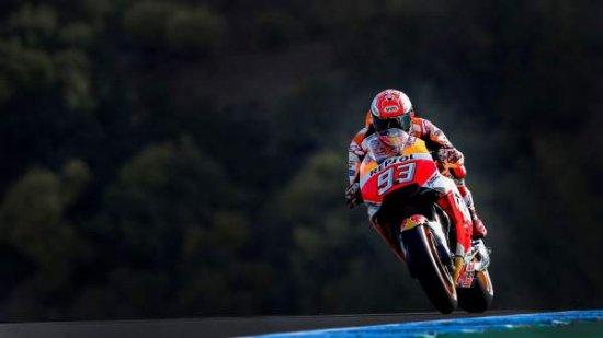 Márquez gana en Jerez y se pone líder del Mundial tras una accidentada carrera