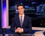 Antonio Texeira, en el plató desde el que presenta de lunes a viernes las noticias.
