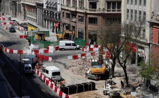 Un escape de gas en Madrid obliga a evacuar una zona cercana a Gran Vía y Alcalá