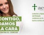Foto de la asociación y grafica de muertes por cáncer. Cedida