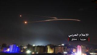 Misiles israelíes sobre Damasco la pasada noche