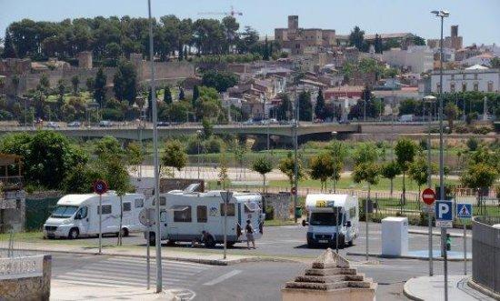 Éxito de las autocaravanas en Badajoz