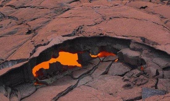 Nuevas grietas en el volcán Kilahuea
