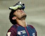 Neymar,con la camiseta del PSG.