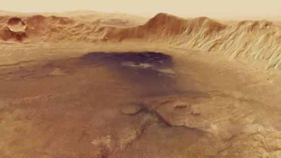 La Agencia Espacial Europea publica unas imágenes inéditas del planeta Marte