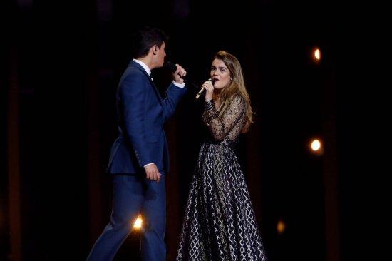 Amaia y Alfred actuarán en la primera mitad de la final de Eurovisión 2018