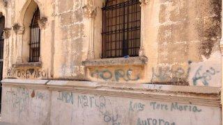 Un aspecto de la fachada del convento. Jaime Rubiano