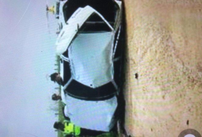 El coche quedó en muy malas condiciones