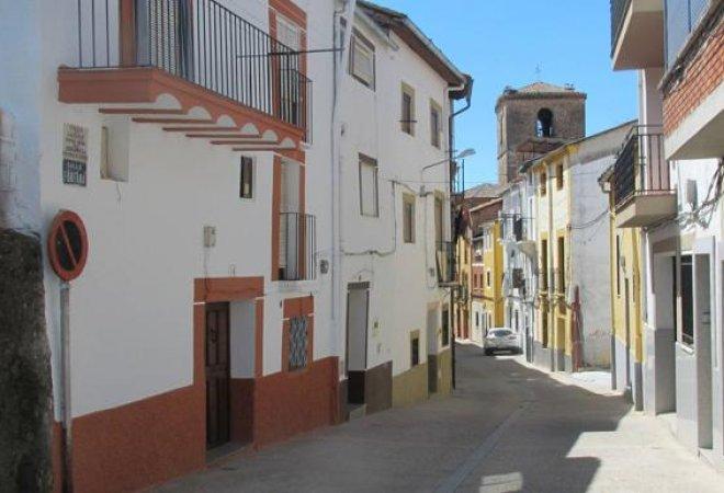 Calle Fontana, lugar donde ocurrió el suceso.